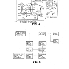 Man Truck Can Bus Wiring Diagram Guitar 3 Pickup Diagrams Patent Us4559518 School Stop Sign And Crossing Arm