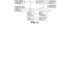Combination Switch Wiring Diagram 3 Way Pilot Light Patent Us4559518 - School Bus Stop Sign And Crossing Arm Apparatus Google Patents