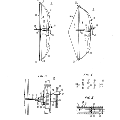 Compound Bow Diagram 2 Speed Motor Wiring 3 Phase Patent Us4572153 Draw Position Indicating