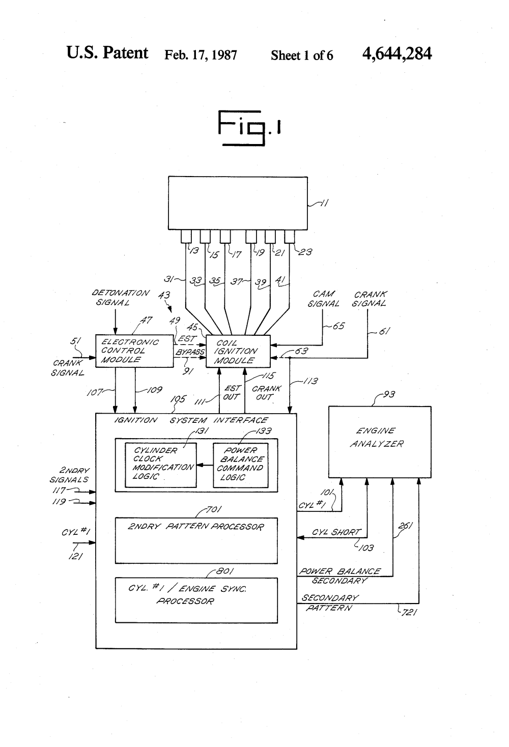 medium resolution of patent us4644284 distributorless ignition system interface for