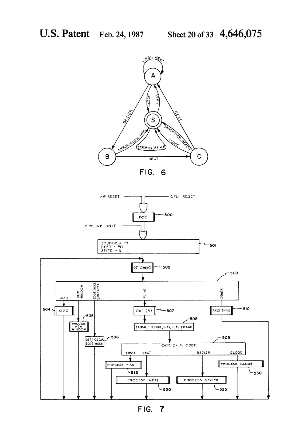 medium resolution of us4646075 21 patent us4646075 system and method for a data processing ford aod