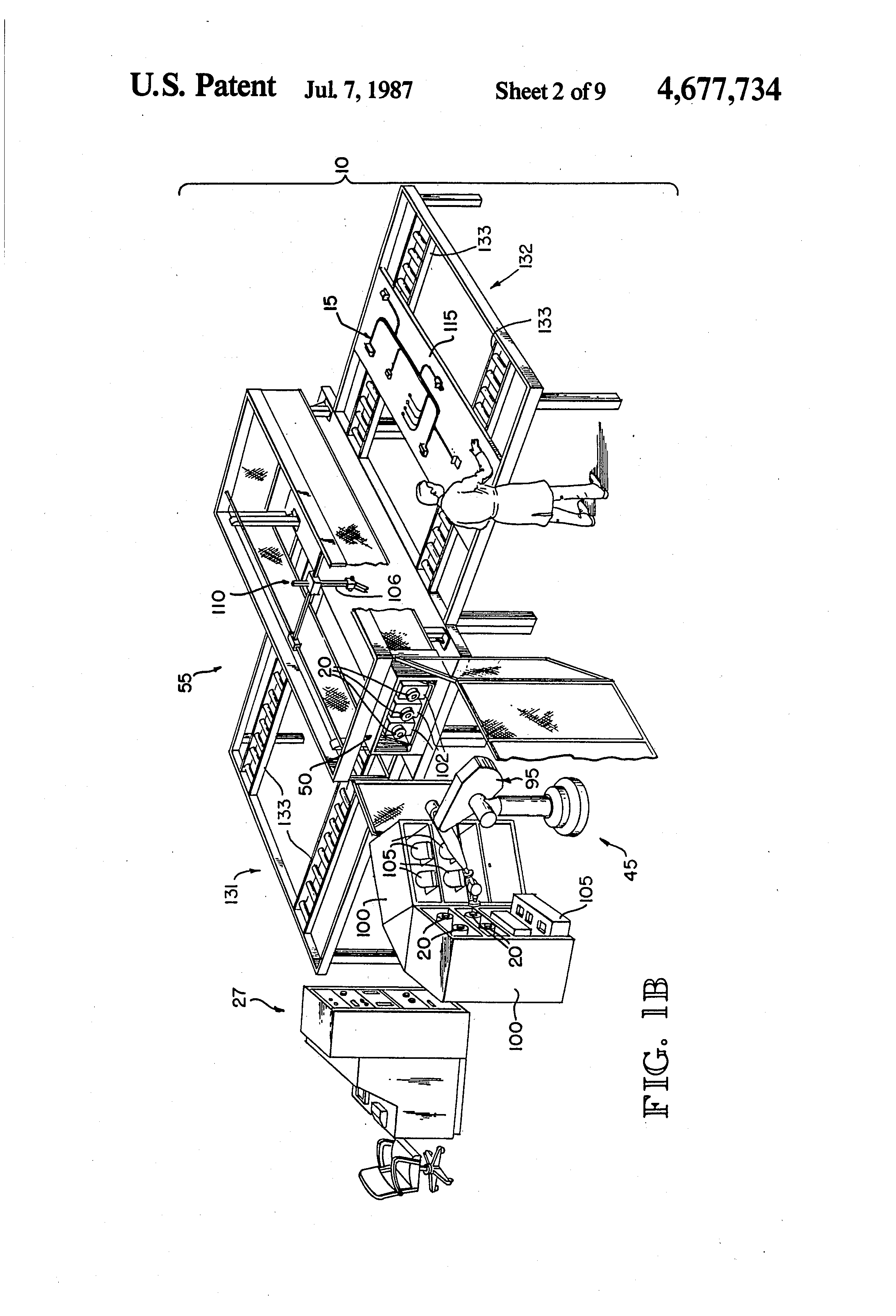 Patent US4677734 Robotic Wire Harness Assembly System Google