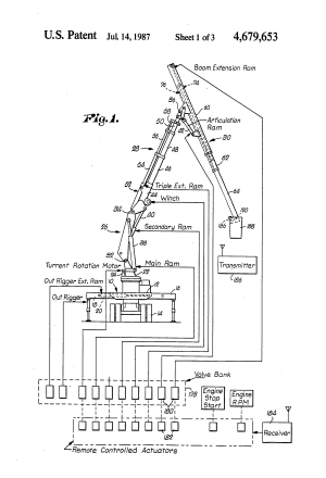 Patent US4679653  Highly maneuverable insulated man