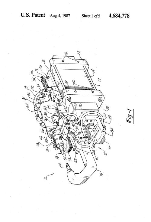 small resolution of brevet us4684778 resistance spot welding gun and transformer assembly google brevets