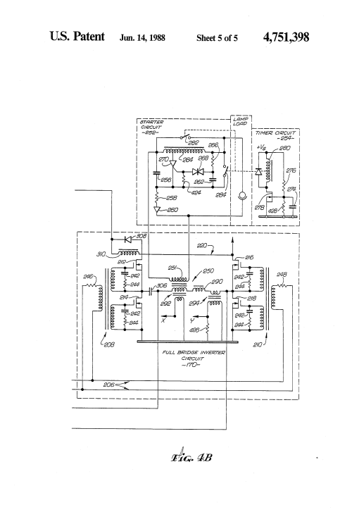 small resolution of patent us4751398 lighting system for normal and emergency
