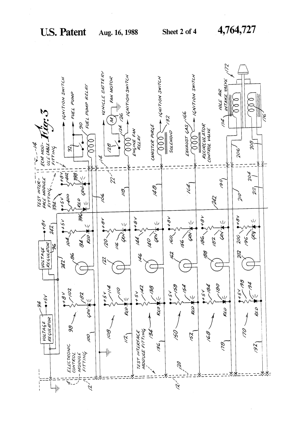 medium resolution of patent us circuit continuity and voltage tester google patent drawing boeing wiring diagram