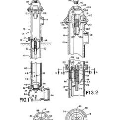 Basic Fire Hydrant Diagram 1988 Honda Accord Wiring Patent Us4790342 Valve Actuator Google