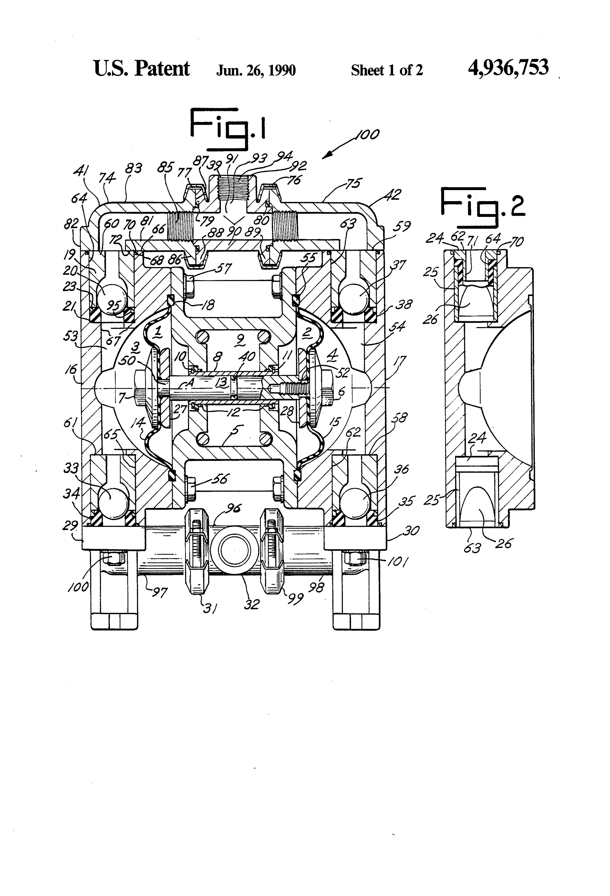 hight resolution of sandpiper diaphragm pump parts diagram diagram