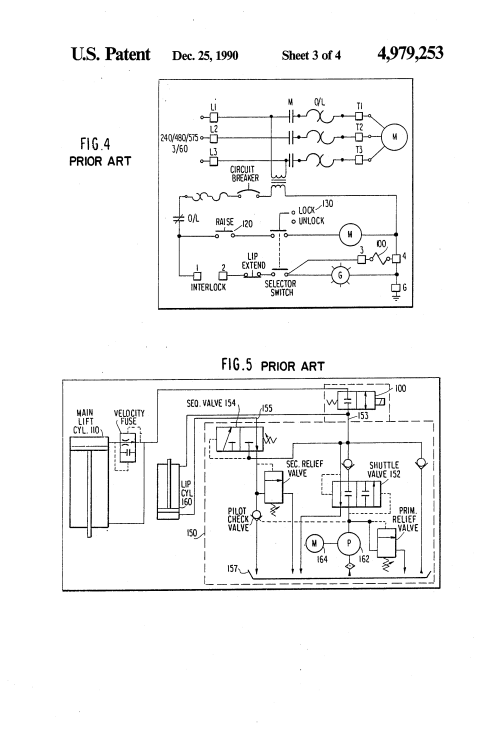 small resolution of dock leveler schematic