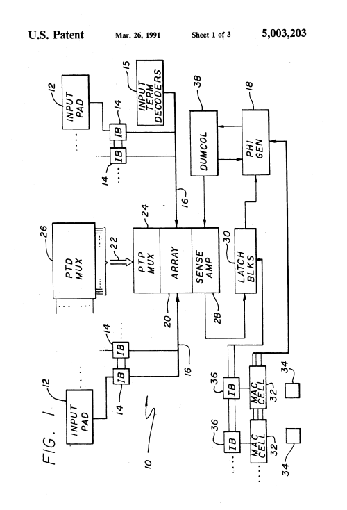 small resolution of pla schematic circuit diagram all wiring diagram rheostat circuit diagram patent us5003203 adaptive reference voltage generation