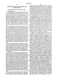 Patent US5013532 - Method for recycling electric arc ...