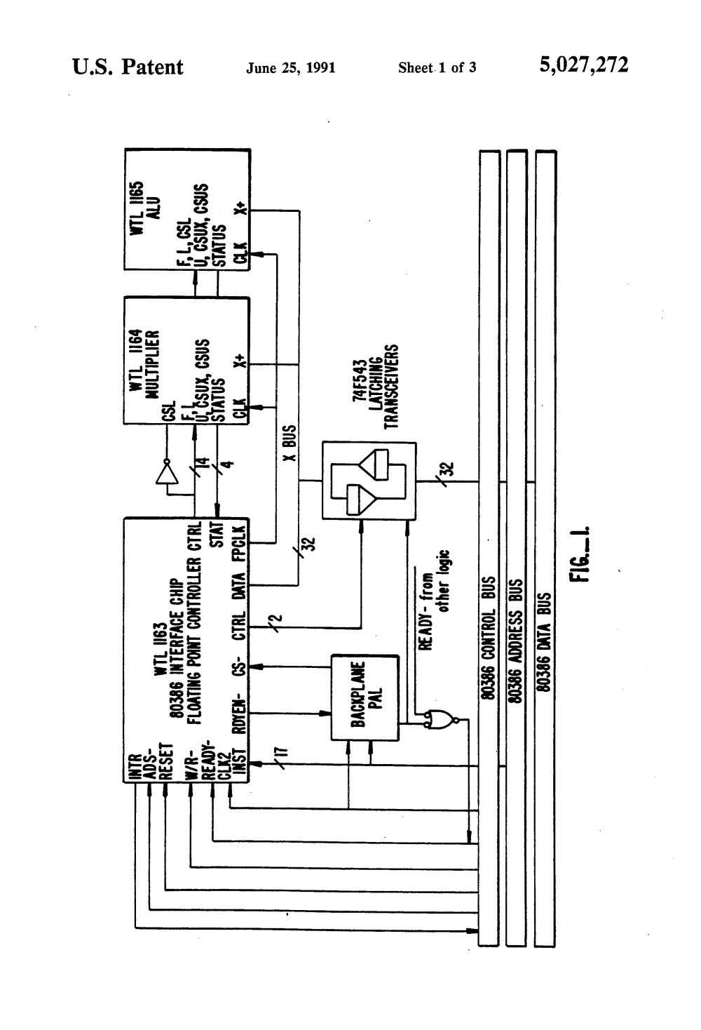 medium resolution of patent us5027272 method and apparatus for performing double patent drawing introduction to 80386