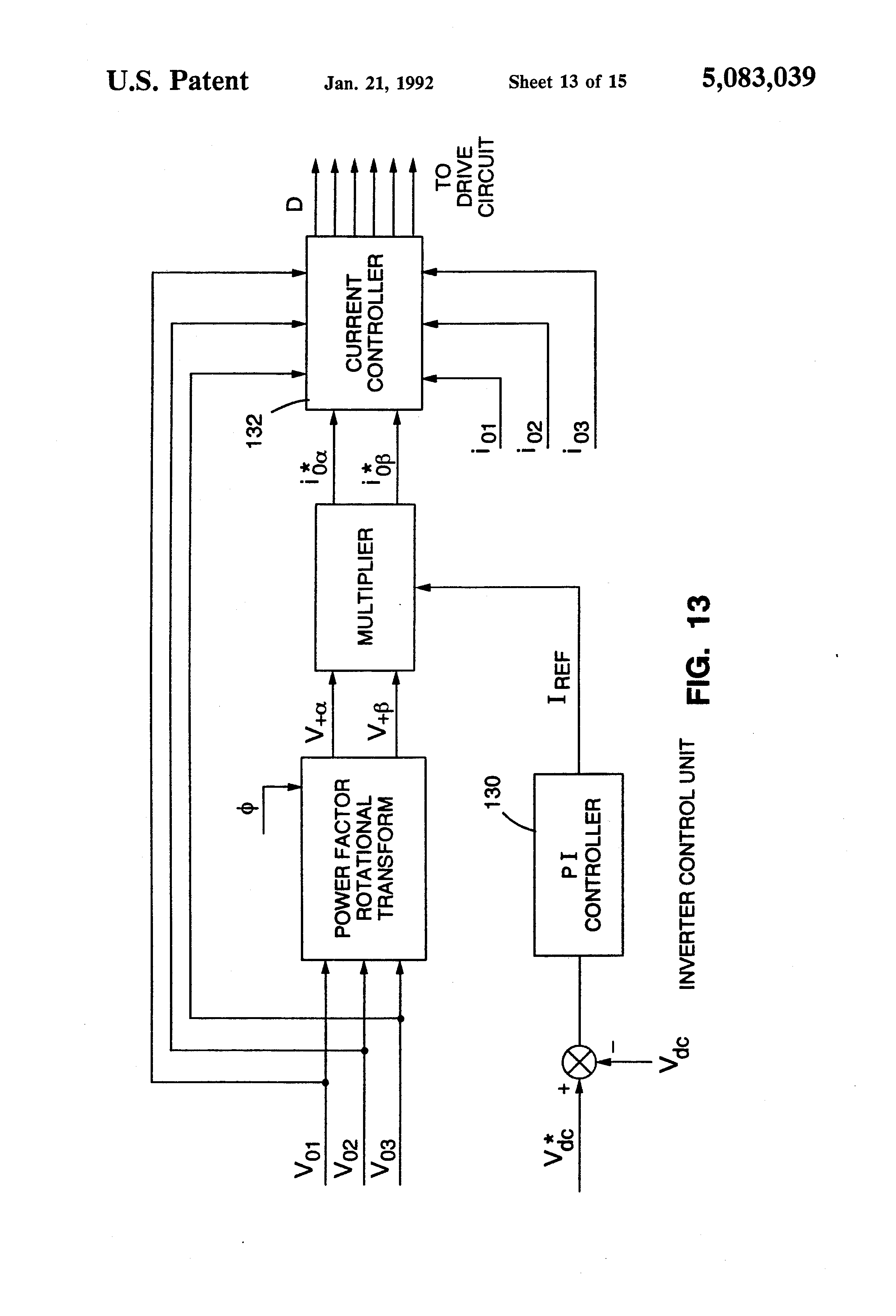 signal generator for power inverter control