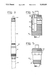 Patent US5135029 - Fuel hose breakaway unit - Google ...