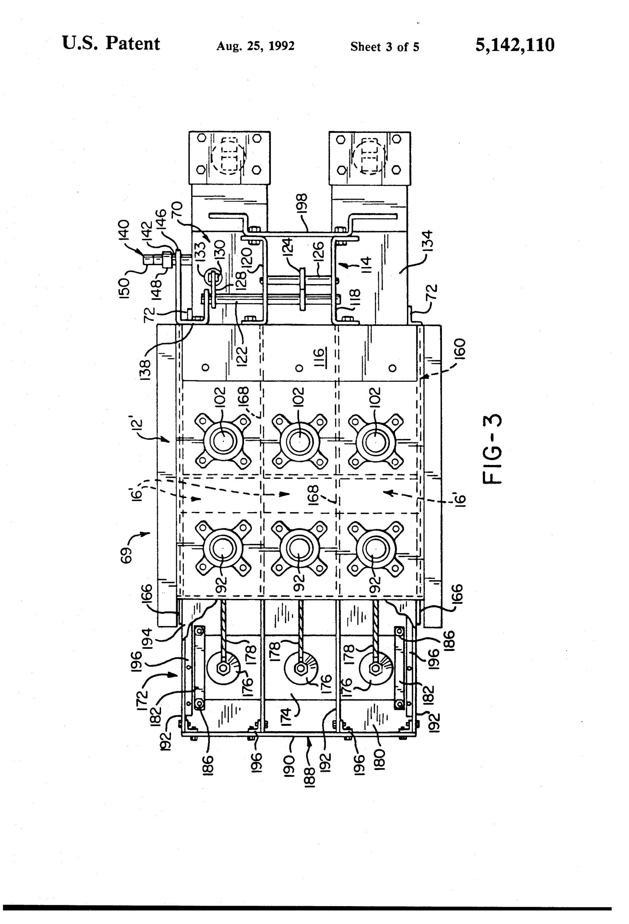 hight resolution of  us5142110 3 patent us5142110 modified magne blast circuit breaker and method ge magne blast wiring diagram
