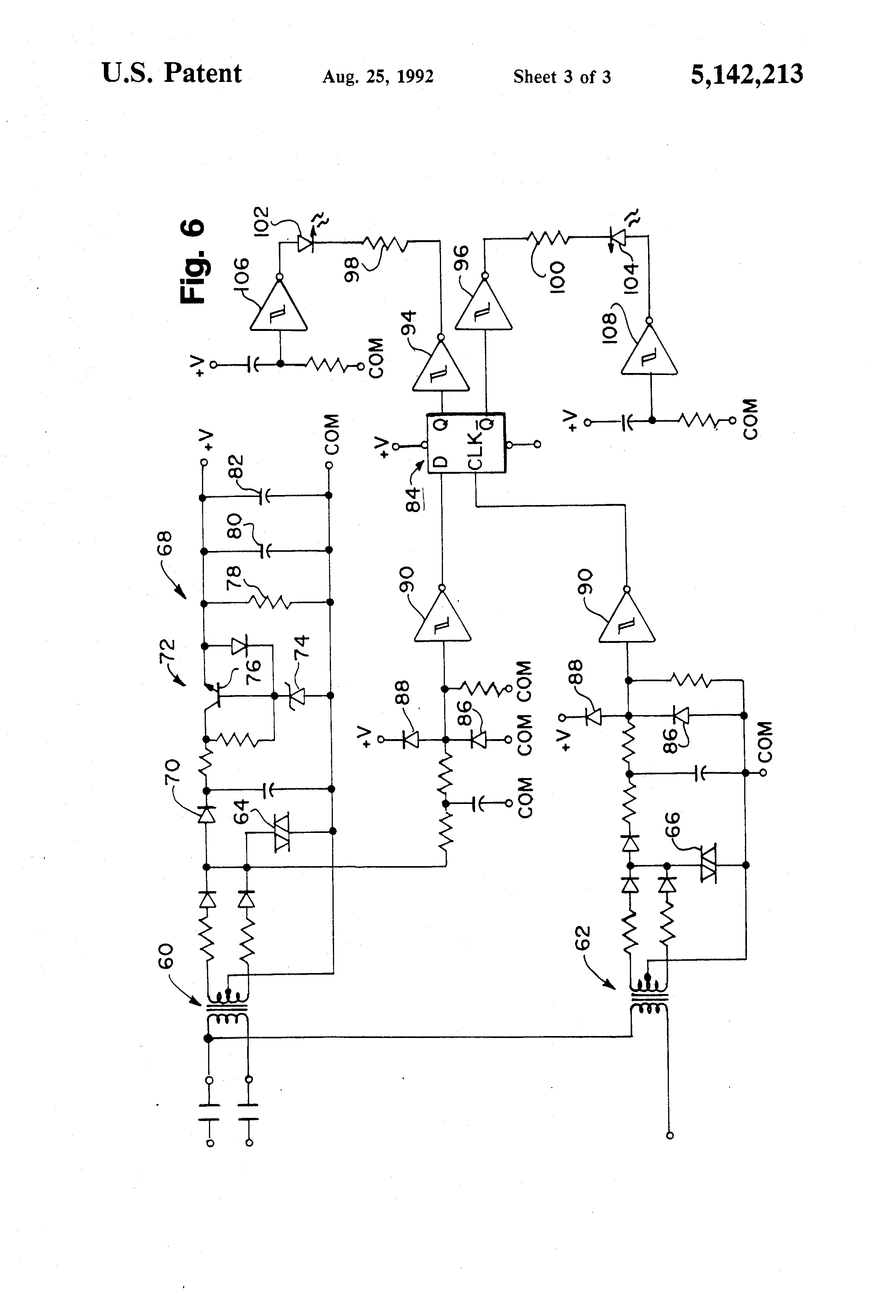 patent us5142213 wye delta open transition motor starter with drawing