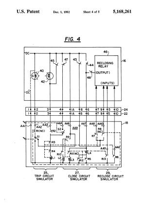 Patent US5168261  Circuit breaker simulator  Google Patents