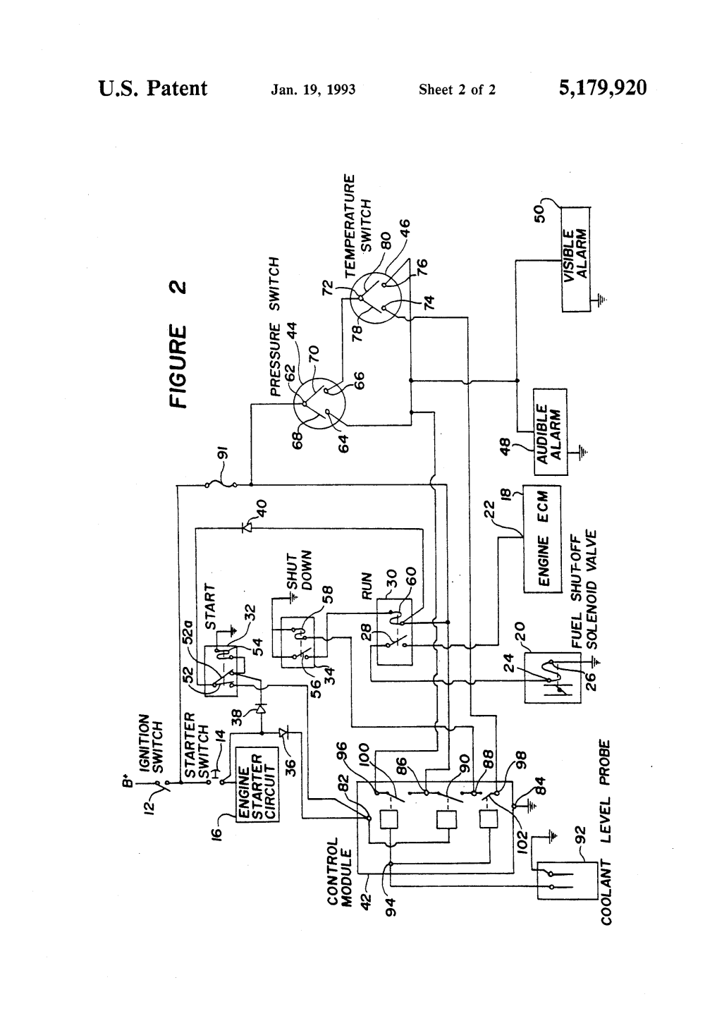 medium resolution of patent us circuit for automatic shut down of patent drawing cummins relay parts accessories