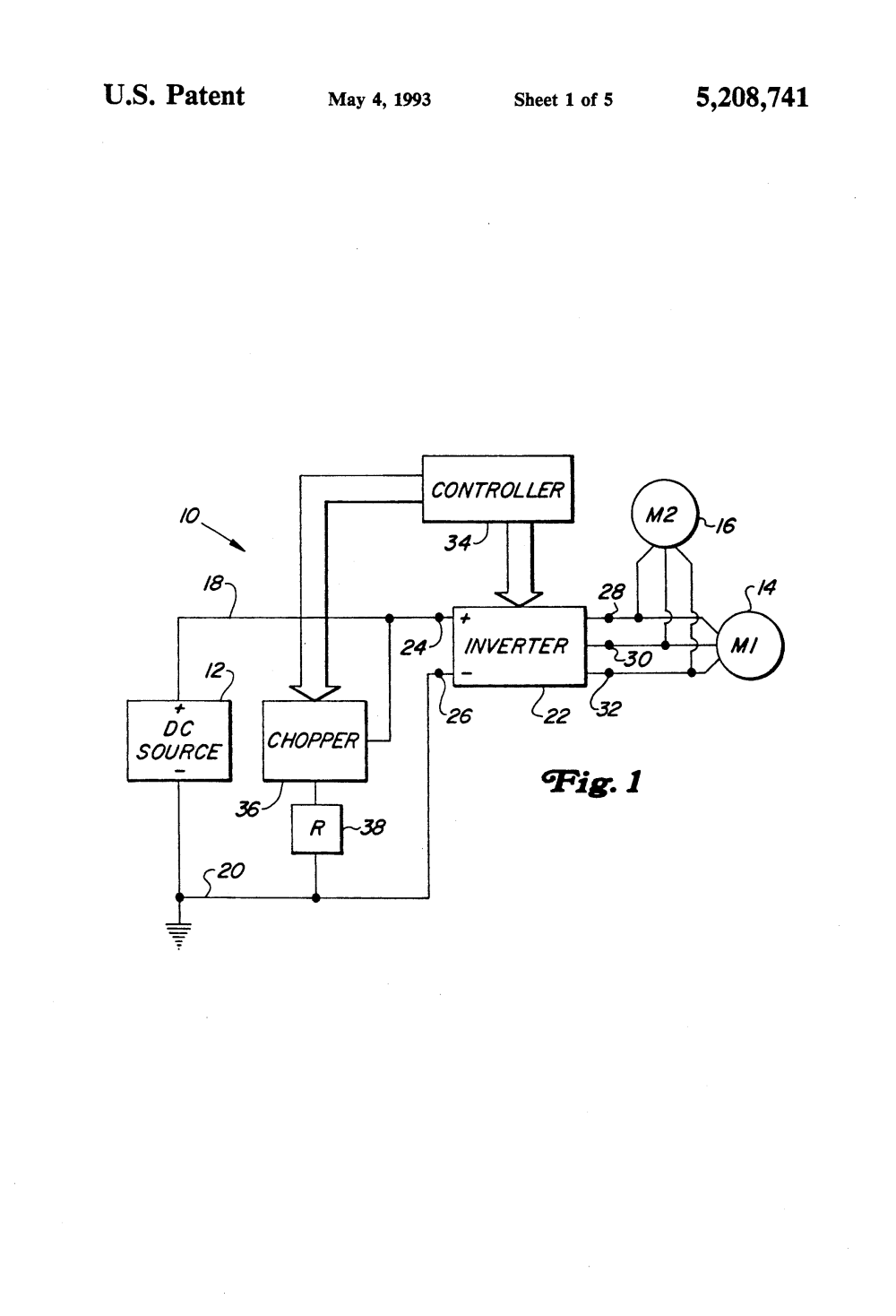 medium resolution of patent us5208741 chopper circuit for dynamic braking in an in the dynamo circuit as can be seen in the accompanying schematic