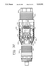 Patent US5222520 - Fuel hose breakaway unit - Google Patenten
