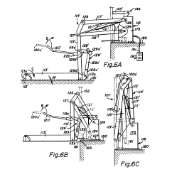 Braun Wheelchair Lift Wiring Diagram For A Double Dimmer Switch Patent Us5261779 Dual Hydraulic Parallelogram Arm