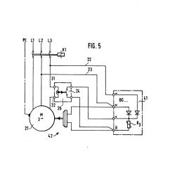 Diode Wiring Diagram Kenwood Reverse Camera Patent Us5278483 Motor Brake With Single Free Wheeling