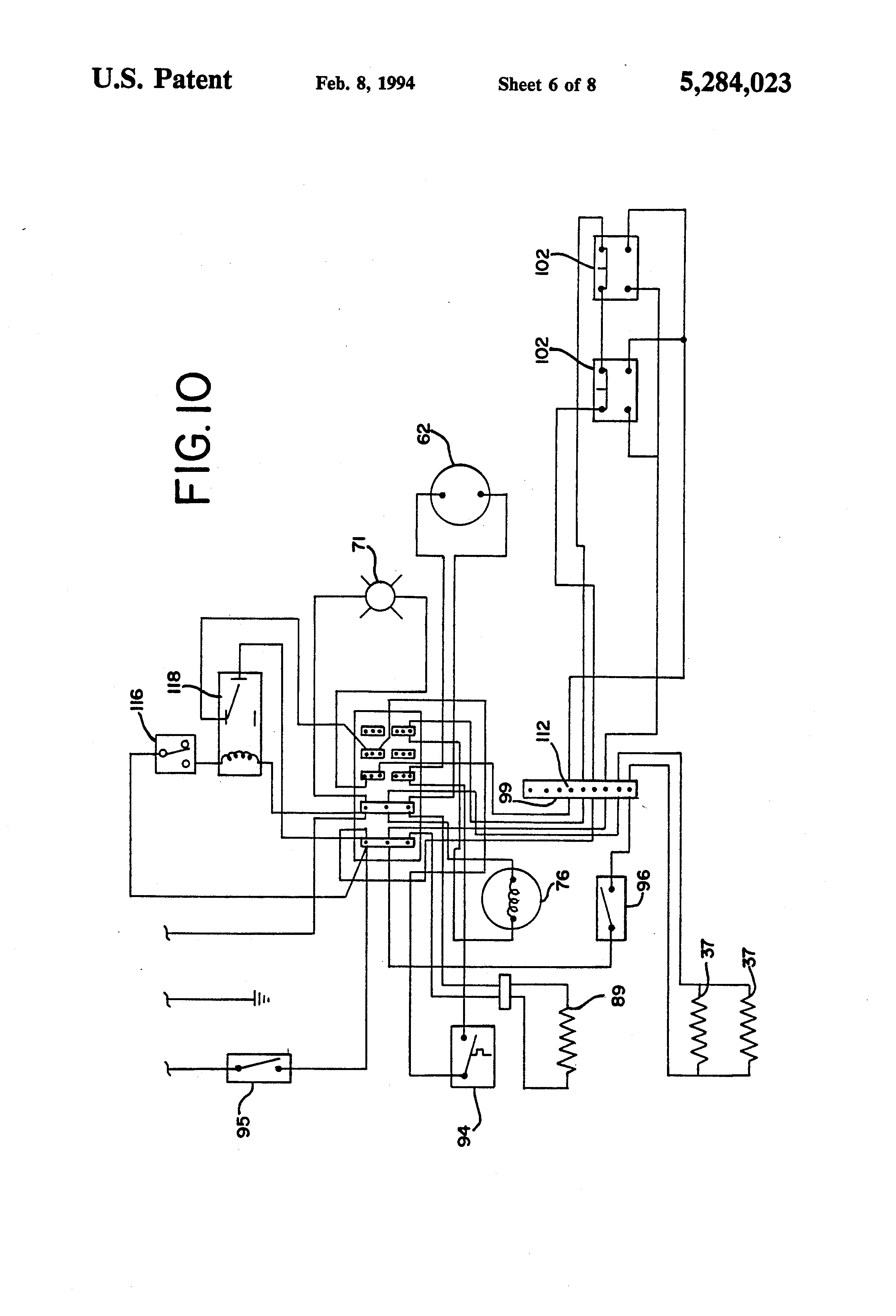 US5284023 6?resized665%2C977 russell walk in freezer wiring diagram freezer wiring a circuit russell evaporator wiring diagram at creativeand.co