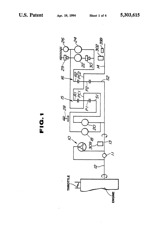 small resolution of  brevet us5303615 line pressure control of automatic transmission on a500 transmission diagram vw transmission