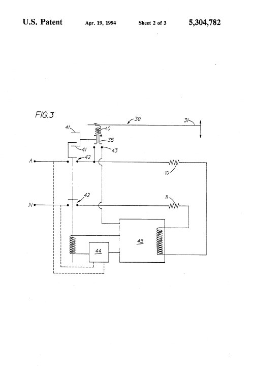 small resolution of patent us5304782 protection circuit for electric toaster google toaster schematic diagram moreover electronic timer circuit diagram