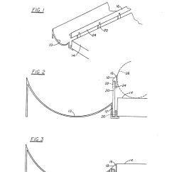 Bowling Lane Dimensions Diagram 2001 Vw Passat Engine Patent Us5322476 Alley Recessed Rail Deflector