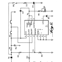 Wiring Diagram Same Iron Traktor Of A Bean Seed Labeled Patent Us5354967 Hair Styling Appliance Heater And