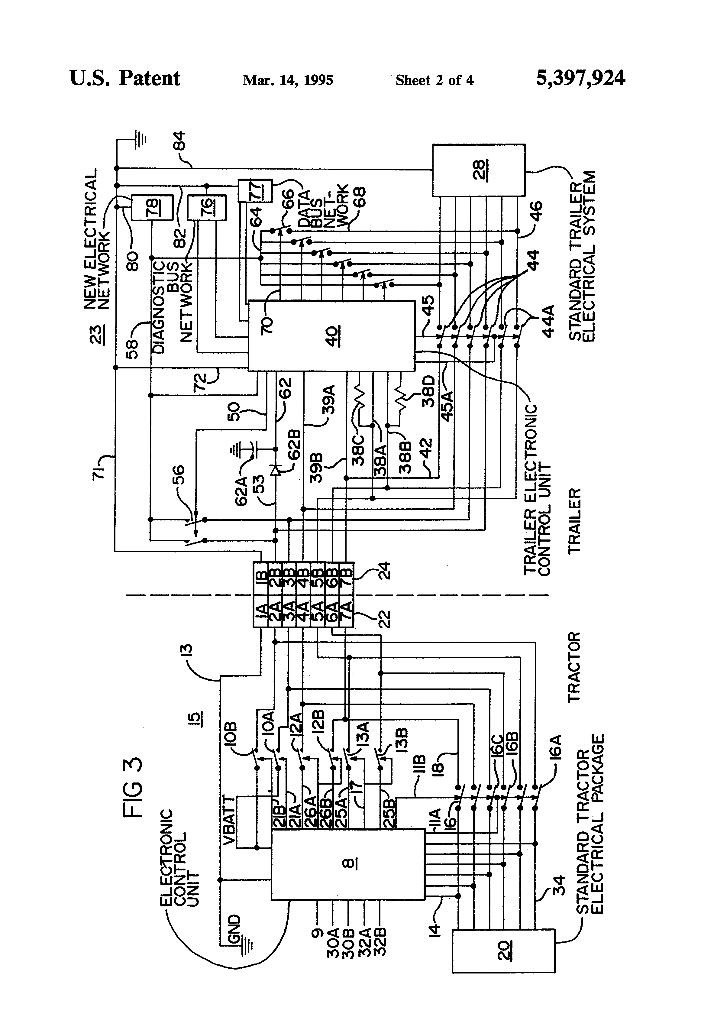 Freightliner Trailer Wiring Diagram on semi trailer light wiring