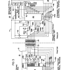 Semi Trailer Wiring Diagram 2004 Kia Spectra Patent Us5397924 Truck Tractor And Electrical