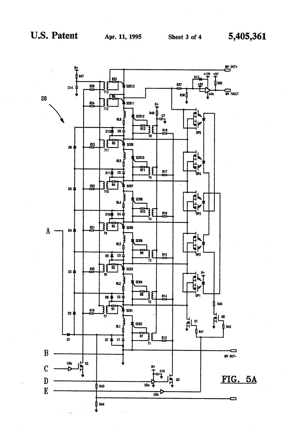 medium resolution of us5405361 3 patent us5405361 external defibrillator circuit google patents 1992 honda cbr 600 honda cbr 600 f2 wiring diagram