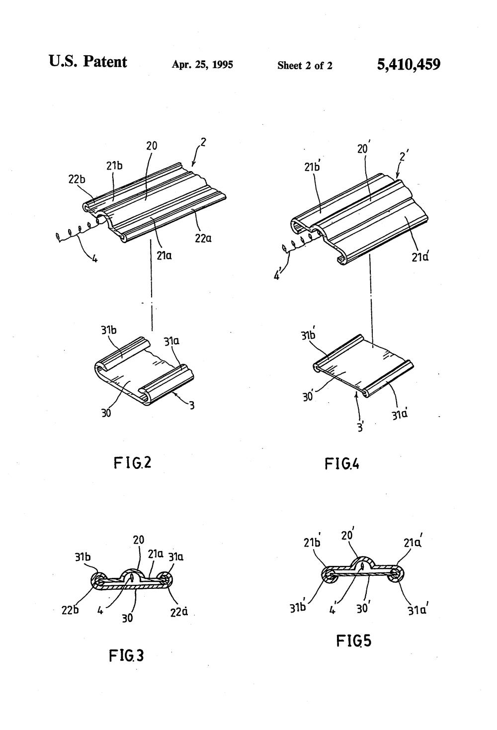 medium resolution of strip lighting google patents on wiring led light strips in parallel patent us5410459 lighting ornament google