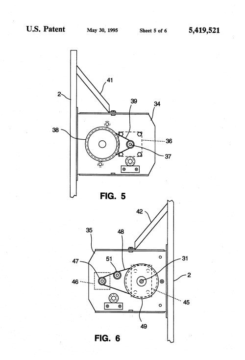 small resolution of patent us5419521 three axis pedestal google patentsuche on car wiring
