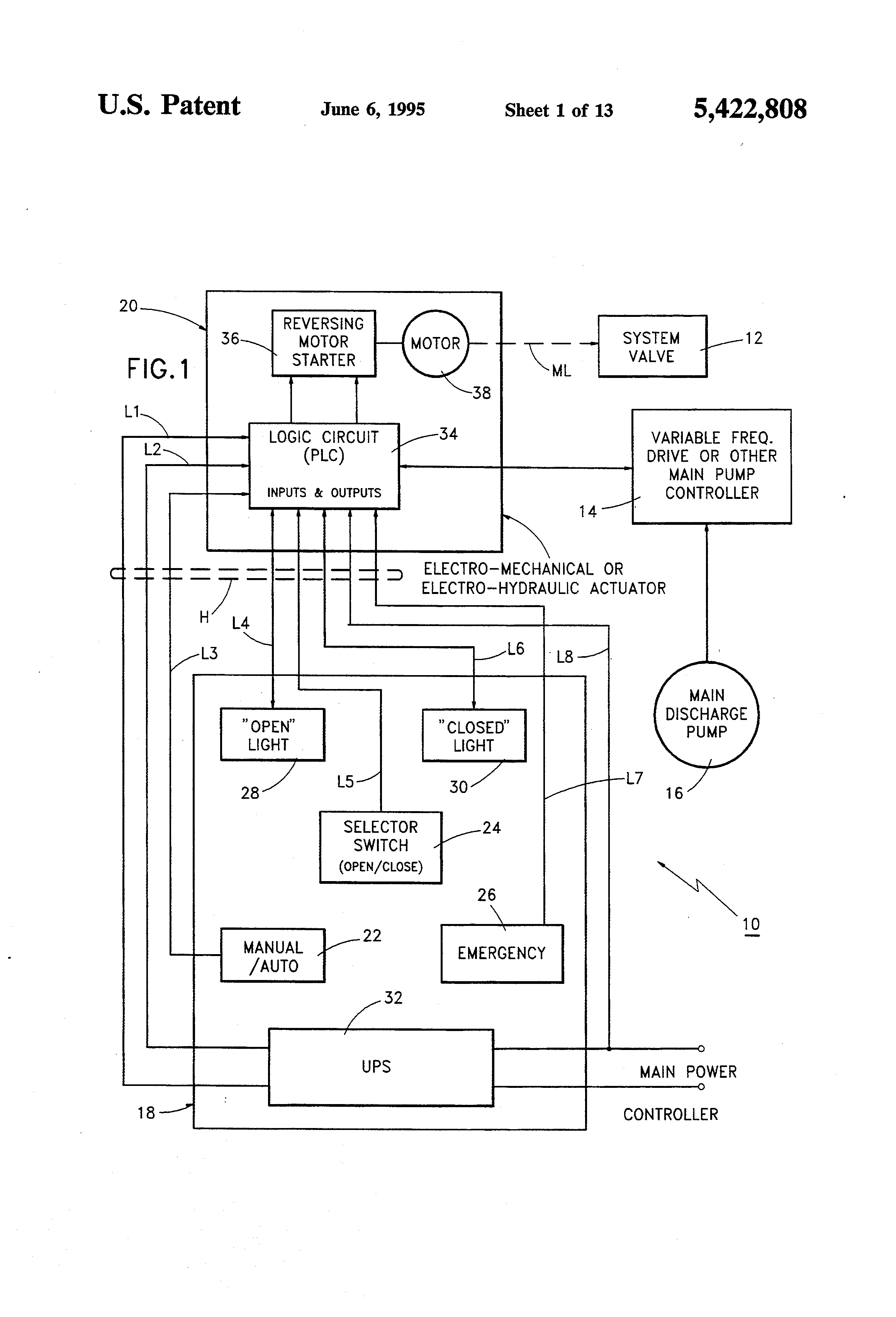 US5422808 1?resized665%2C977 rotork mov wiring diagram rotork iq wiring diagram pdf \u2022 wiring  at gsmportal.co