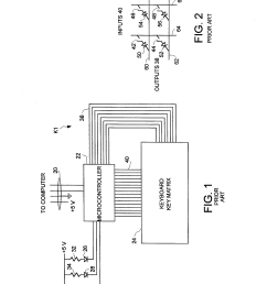 patent us5523755 n key rollover keyboard without diodes google patents [ 2320 x 3408 Pixel ]