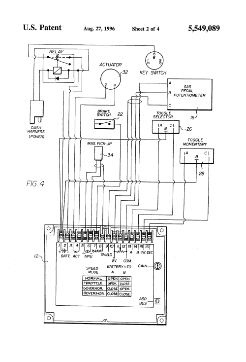 small resolution of us5549089 2 patent us5549089 engine maximum speed limiter google patents cushman white truck cushman white truck wiring diagram