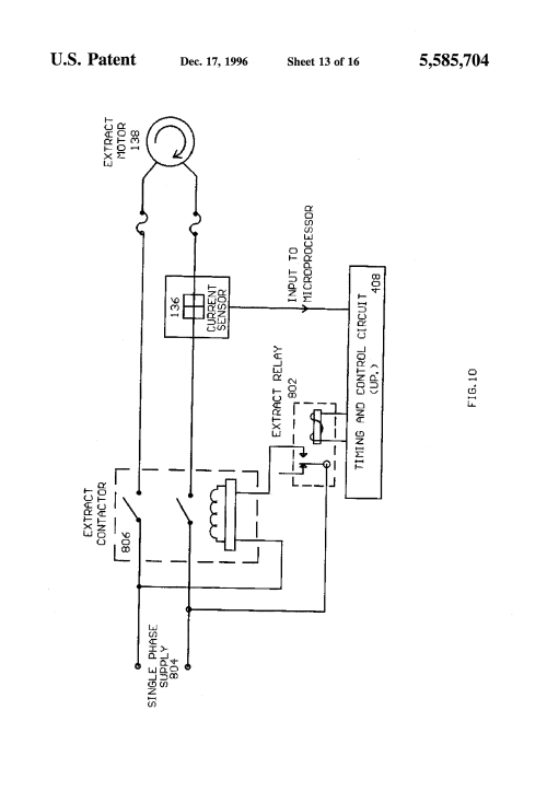 small resolution of us5585704 13 patent us5585704 computer means for commercial washing machines lg semi automatic washing machine wiring