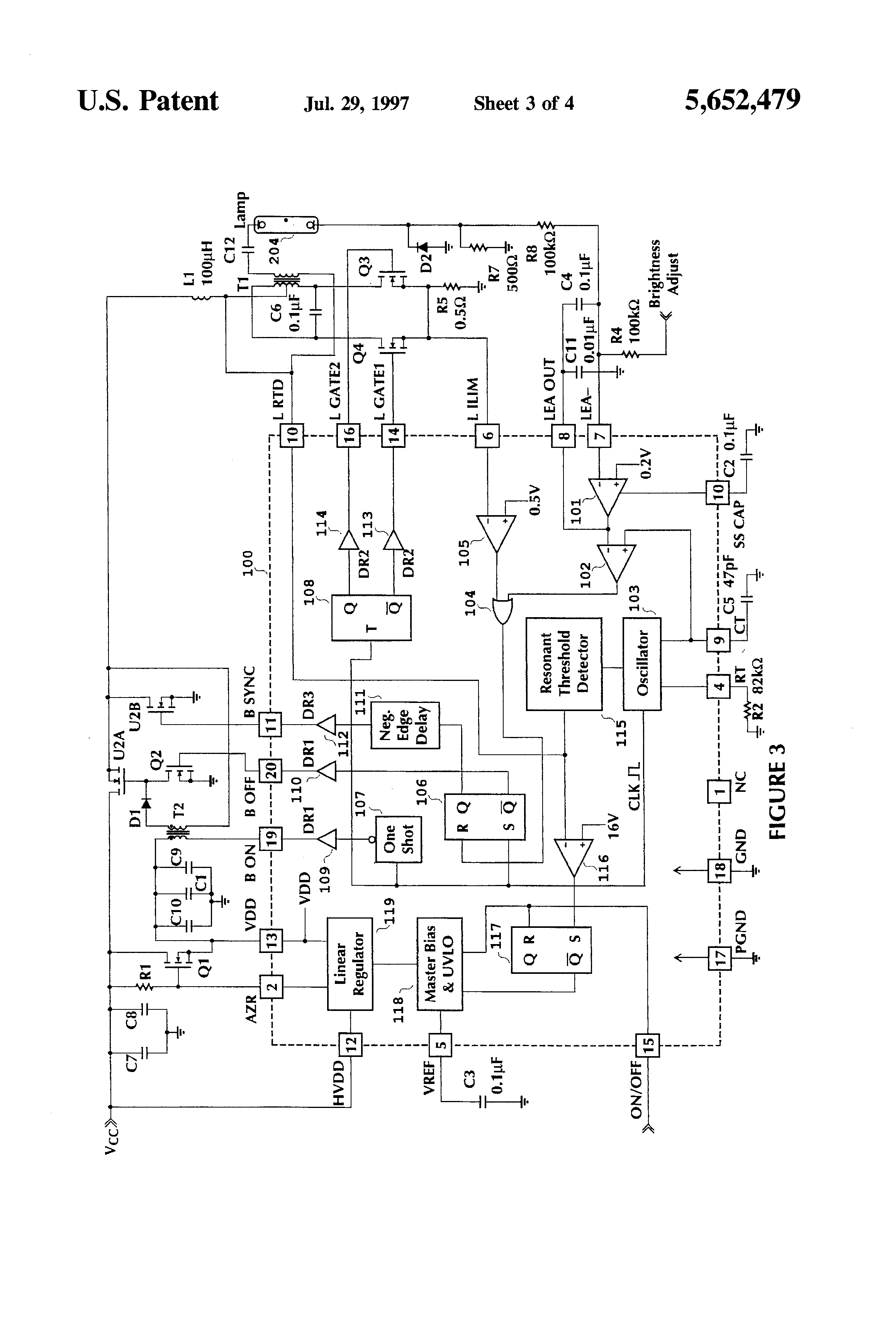 US5652479 4?resize\\\=665%2C977\\\&ssl\\\=1 eb60 emergency ballasts wiring diagram eb60 wiring diagrams  at crackthecode.co