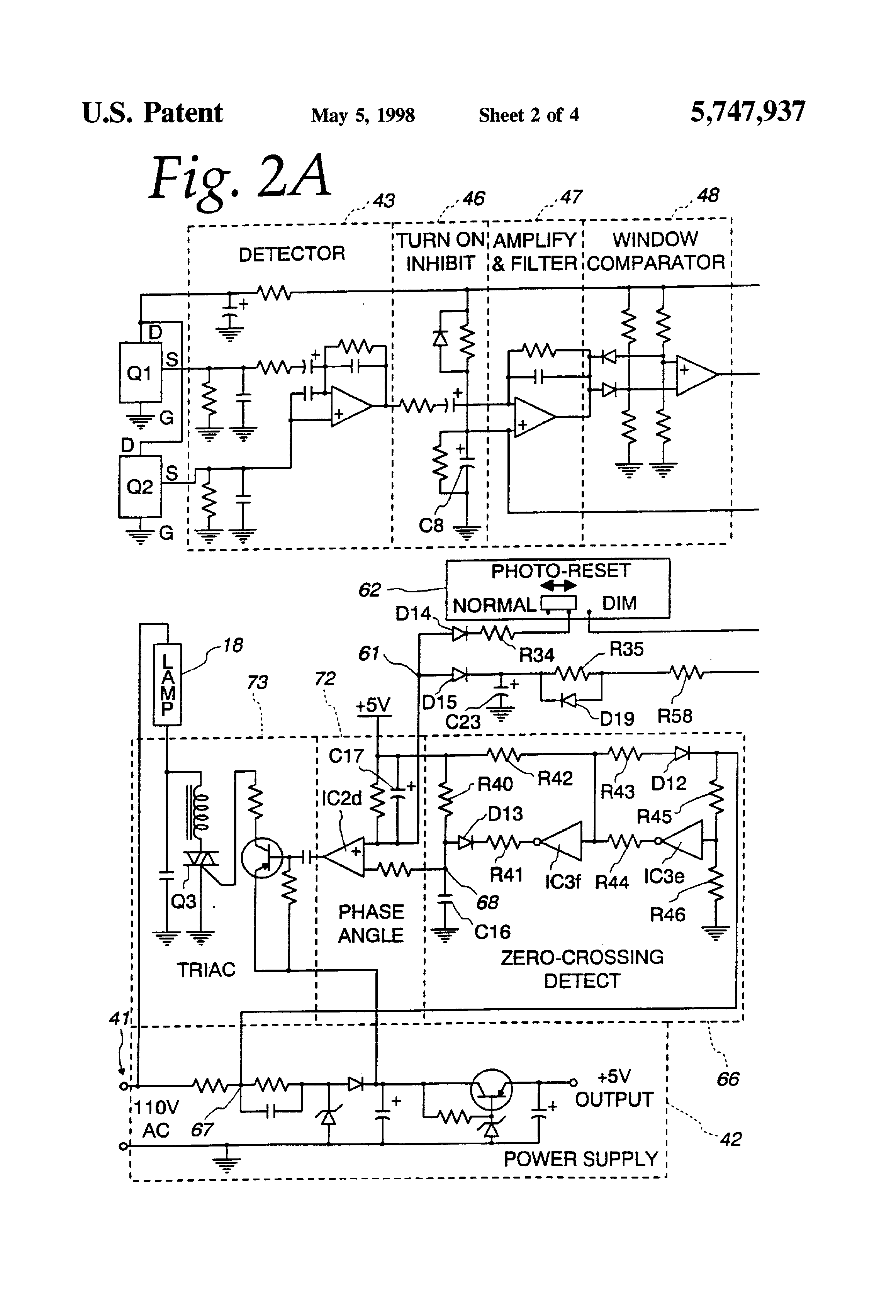 US5747937 2?resize\\\=665%2C977 warmoon wiring diagram warmoon website \u2022 edmiracle co aiwa cdc-x227 wiring harness at mifinder.co