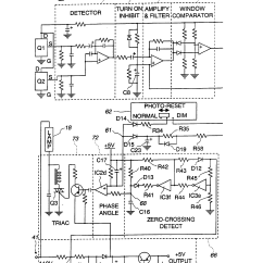 Photocell Installation Wiring Diagram 1999 F150 Patent Us5747937 Two Level Security Lighting System