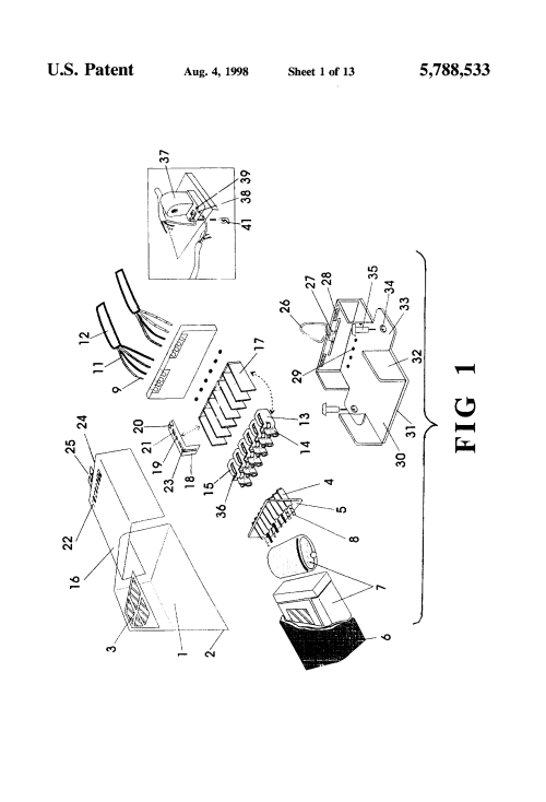 small resolution of patent us5788533 ballast system for interconnection with 2001 workhorse heater controls wiring diagram wall lamp ballast wiring