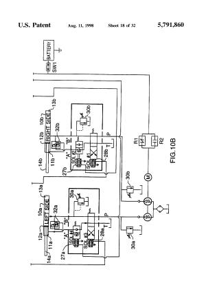 Patent US5791860  Hydraulic platform lift for a truck