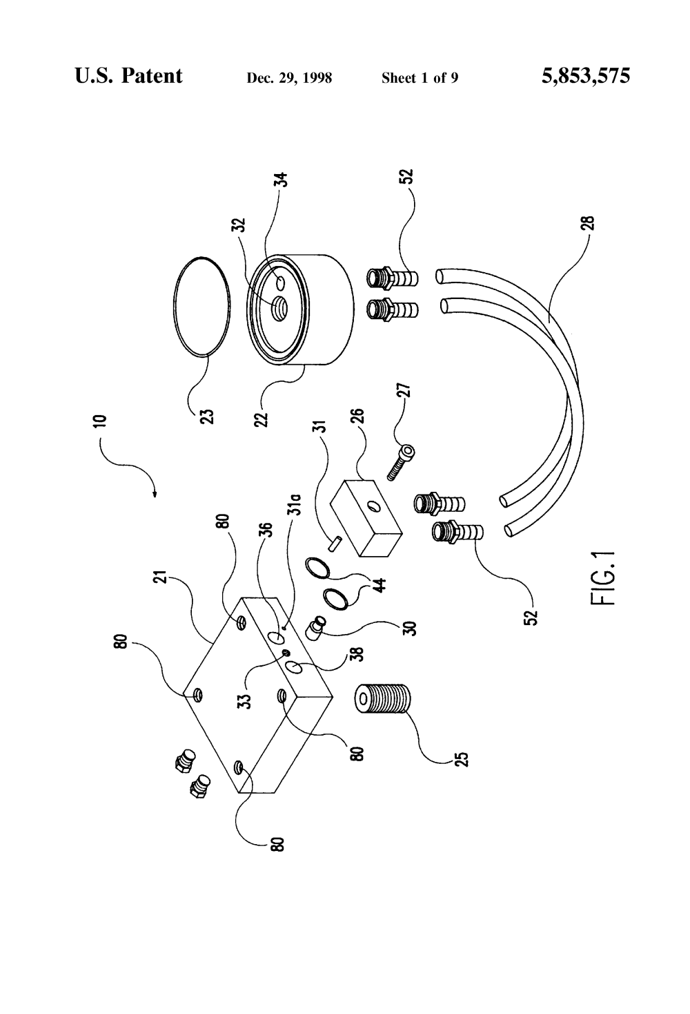 medium resolution of  remote fuel filter kit images 9 patent drawing