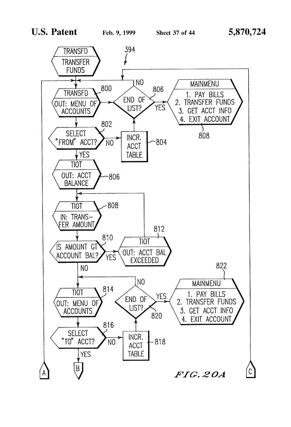medium resolution of us5870724 41 patent us5870724 targeting advertising in a home retail banking 2006 jeep 2006 jeep commander interior fuse box