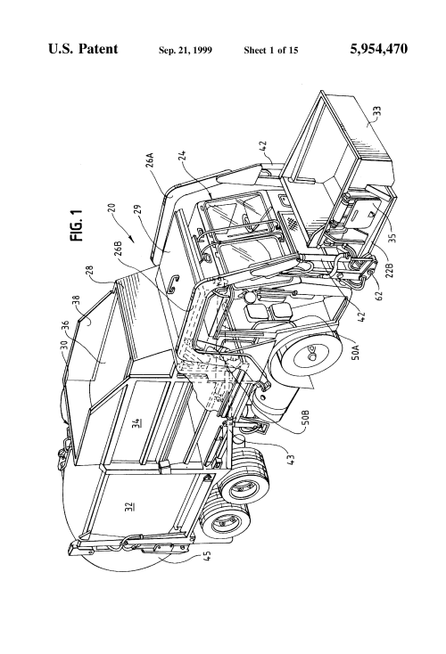 small resolution of  us5954470 2 patent us5954470 compacting system and refuse vehicle google pioneer deh 6300ub wiring diagram at