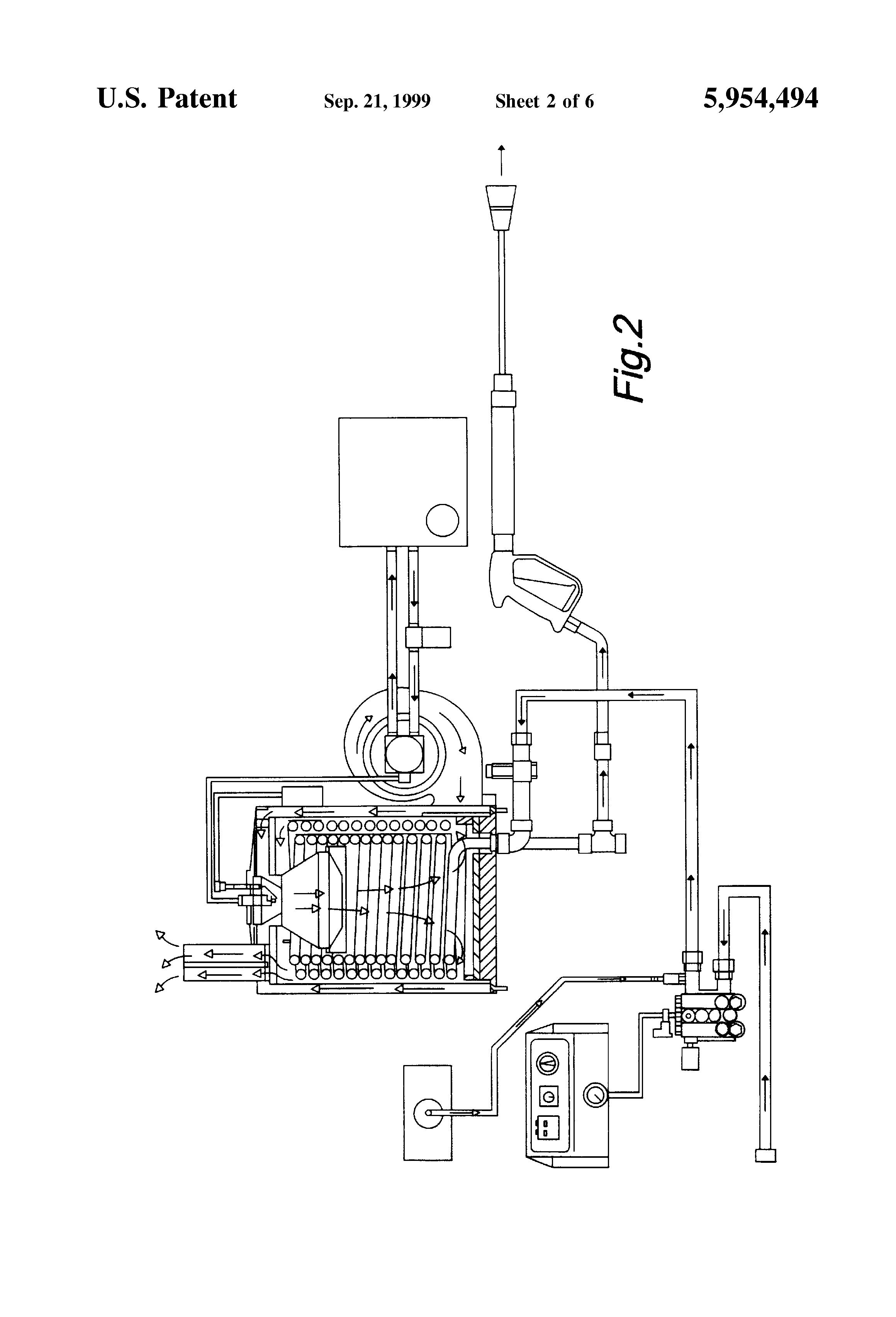 wiring diagram draw john deere symbols patent us5954494 pressure washer blower ignition