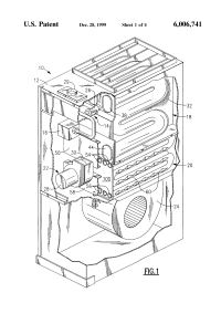 Patent US6006741 - Secondary heat exchanger for condensing ...